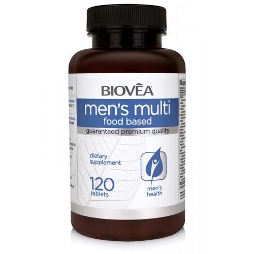 MEN'S MULTI (FOOD BASED) 120 Tabl. - поддръжка на мъжкото здраве