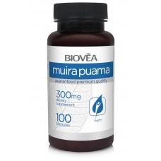 MUIRA PUAMA 300mg 100 капсули - намалява стреса, афродизиак