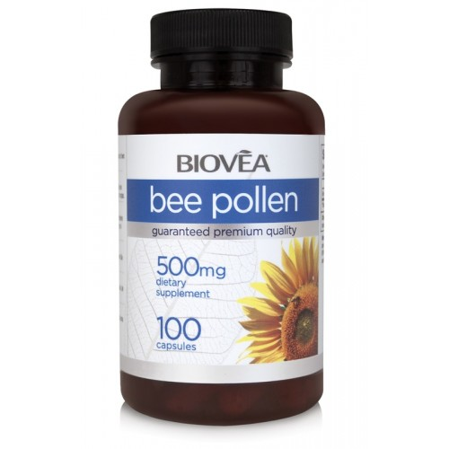 BEE POLLEN 500mg 100 Capsules - за имунната система*