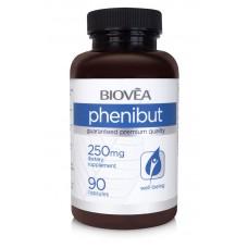 PHENIBUT 250mg 90 Capsules - намалява стреса и безпокойството