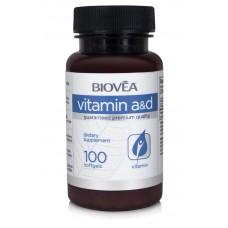 VITAMIN A & D 100 Softgels - за здрави кости, коса, зъби, зрение