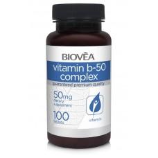 VITAMIN B-50 COMPLEX 50mg 100 Tablets - за намаляване на стреса и умората
