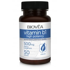 VITAMIN B1 500mg - за правилното функциониране на клетките