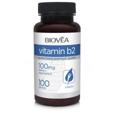 VITAMIN B2 100mg 100 Tablets - подобрява усвояването на храната