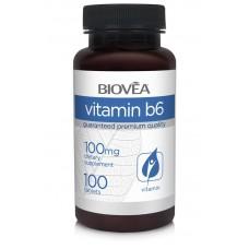 VITAMIN B6 100mg 100 Tablets - укрепва имунитета и нервната система