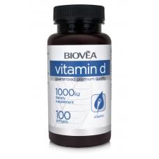 VITAMIN D 1,000 IU 100 Softgels - заздравява костите и зъбите
