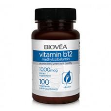 VITAMIN B12 (Methylcobalamin) 1000mcg 100 Sublingual Tablets - важен за мозъка