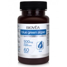 BLUE GREEN ALGAE (Organic) 500mg 60 таблетки - за имунната, храносмилателната и нервната системи