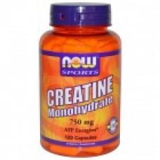 Creatine Monohydrate 750 мг - 120 капсули NOW Sports