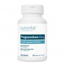 PREGNENOLONE 50mg 60 капсули - подобрява мозъчната дейност, за нервната система