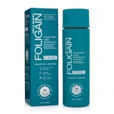 FOLIGAIN® Стимулиращ шампоан за коса 2% Minoxidil, 2 % Trioxidil  (8oz) 236ml