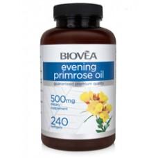 EVENING PRIMROSE OIL 500mg - за сърдечносъдвата система, облекчава ПМС, поддържа здравето на гърдата
