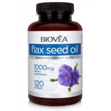 FLAX SEED OIL 1000mg - за сърдечносъдовата и имунната система, редуцира теглото