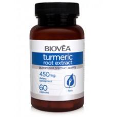 TURMERIC ROOT EXTRACT 450mg - мощен антиоксидант, противораково действие
