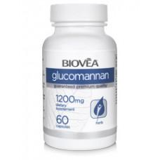 GLUCOMANNAN 1200mg - при храносмилателни проблеми, източник на фибри