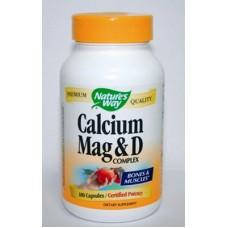 Калций, Магнезий, Витамин D - за кости и зъби 250 mg по 100 капс