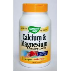 Калций и Магнезий - за плътността на костите - 250 mg по 100 капс