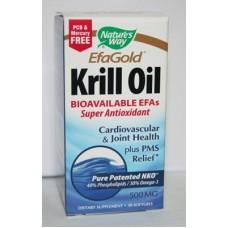 Крил масло от планктон - антиоксидантно действие 500 mg