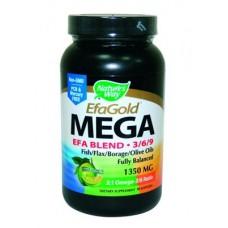 ЕФА Мега Бленд -омега 3 - 6 - 9 - 1350 mg
